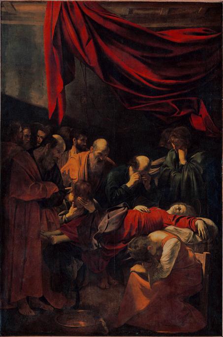 Caravaggio_La_Morte_della_Vergine